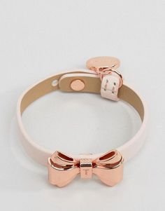 7ab1ac01ea95 Ted Baker Curved Bow Leather Bracelet  wedwithted  bridesmaidgifts Ted  Baker Ted Baker Bracelet