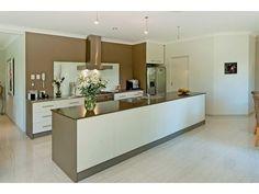 Galley, kitchen-living kitchen designs with island bench
