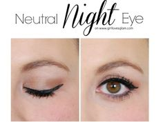 How to apply neutral eyeshadow