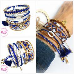 Zestaw 6 bransoletek z muszlą: - bransoletka makramowa z koralikami - bransoletka makramowa z metalową muszlą - bransoletka sznurkowa z koralikami i koralikową muszlą - bransoletka z kamieni naturalnych - jaspis - bransoletka tkana na krośnie z koralików #bracelets #beads #jewelery - bransoletka minimalistyczna z koralików Kolorystyka: kobaltowy, miedziany, złoty, biały  Pasuje na nadgarstek o obwodzie od 15,5 do 17,5 cm Bangles, Bracelets, Cobalt, Ocean, Jewelry, Jewlery, Jewerly, Schmuck, The Ocean