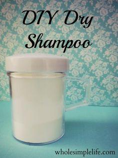 DIY Dry Shampoo | Modern Alternative Mama