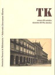 TK (Asociación Navarra de Bibliotecarios)  nº 26 (Decembro 2014)
