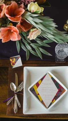 Go modern and colorful with this decor. Styled by: Juniper & Dash http://www.juniperanddash.com/