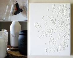 DIY of the day: glue art