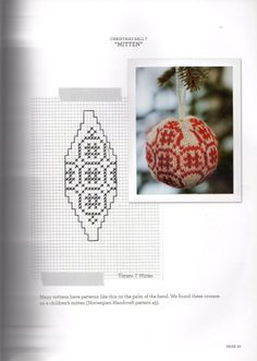 Gallery.ru / Фото #42 - 55 Christmas Balls to Knit. - Marina-Melnik