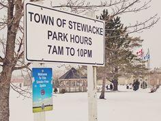 Town of Stewiacke, Dennis Park. Stewiacke, Nova Scotia. ©Marg Robins www.stewiackenovascotia.com