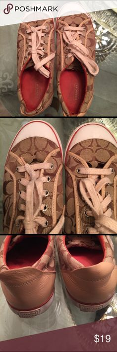 Coach Sneakers Good Condition-size 9b Coach Shoes Sneakers