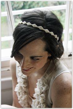 Jemma Lyon, Bow Pearl Headband