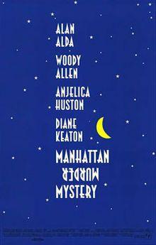 Manhattan Murder Mystery (1993) Woody Allen, Diane Keaton, Alan Alda, Angelica Huston
