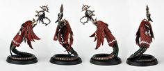 Dave Taylor, wraith tail painted