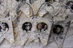 holly bunting ornaments | Flickr - Photo Sharing!