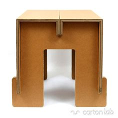 Delivers a wide array of bedroom home furnishings & bedroom sets alongside house accents from Coaster Office funiture. Cardboard Chair, Diy Cardboard Furniture, Cardboard Model, Cardboard Design, Paper Furniture, Cardboard Display, Cardboard Paper, Modular Furniture, Cardboard Crafts