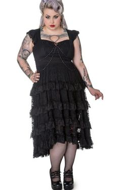 Gothic dress plus size - http://pluslook.eu/wedding/gothic-dress-plus-size.html. #dress #woman #plussize #dresses
