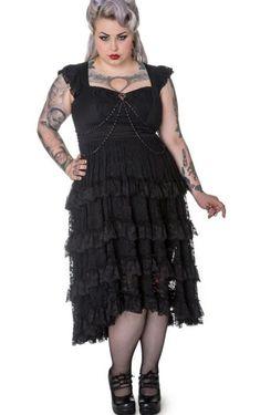 Gothic dress plus size - http://pluslook.eu/wedding/gothic-dress-plus-size.html. #dress #woman #plussize #dresses