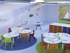 Kindergarten Interior, Kindergarten Design, Daycare Design, Kids Room Design, Modular Furniture, Furniture Design, Modern Classroom, Daycare Rooms, School Furniture