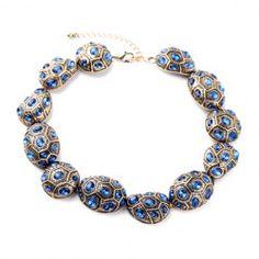 Stylish Rhinestone Geometric Shape Necklace For Women