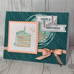Stampin' Up! 50th Birthday Cards, Homemade Birthday Cards, Happy Birthday, Cupcake Card, Stampin Up Paper Pumpkin, Pumpkin Cards, Images Vintage, Card Sentiments, Specialty Paper