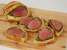 Spinach Artichoke Beef Wellington recipe from Food Network Kitchen via Food Network