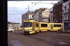 Bruxelles 1979 Light Rail, Buses, Paradise, Train, Culture, Street, World, Brussels, Busses