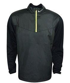 NIKE Nike Men'S Golf Shield 1/2 Zip Top. #nike #cloth #