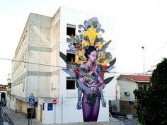 Bosoletti unveils a new mural in Cascais, Portugal for Muraliza