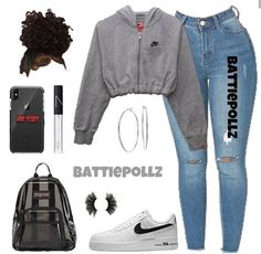 MORE PICTS You can also see more ideas about baby nike outfits , nike outfits sweatshirts , nike outfits volleyball , nike outfits dress , n. Swag Outfits For Girls, Boujee Outfits, Cute Swag Outfits, Teenage Girl Outfits, Cute Comfy Outfits, Cute Outfits For School, Tumblr Outfits, Teen Fashion Outfits, Dope Outfits