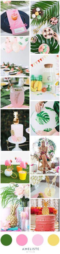 An elegant luau party.:                                                                                                                                                                                 More