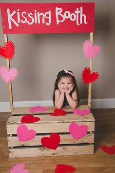 HEY VALENTINE Sweet Valentines day photos / Kissing booth / Valentines day for kids / Spoil your kids on valentines day / hearts / cupid / love day / Baby's first valentines day / Tutus and trucks Puppy Valentines, Valentines Day Photos, Valentines Day Hearts, Baby Nursery Diy, Baby Room Art, Valentines Wallpaper Iphone, Outdoor Baby Photography, Baby Boy Baptism Outfit, Baby Girl Shower Themes