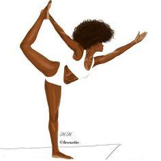 « Rule 1 : Honor your curves By @froxotic Mentionnez une #afroqueen française sur instagram qui vous motive à vous bouger pour garder la forme en 2016 … »