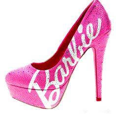 Barbie shoes  i want them soo bad
