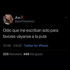 Tweet Quotes, Tv Quotes, Fact Quotes, Boys Are Stupid, Bitch Quotes, Real Talk Quotes, Insta Posts, Spanish Quotes, In My Feelings