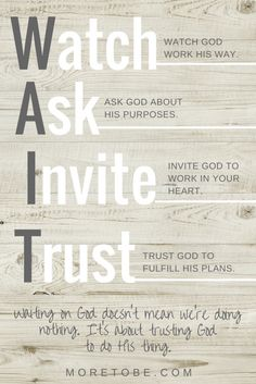 """watch, ask, invite, trust! """"Let your eye be to the Lord, and wait upon Him. Walk with Him and He will walk and dwell with you. Bible Prayers, Bible Scriptures, Christian Life, Christian Quotes, Christian Living, Faith Quotes, Bible Quotes, Eye Quotes, Godly Quotes"""