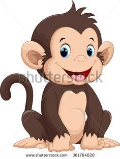 Cute monkey cartoon                                                                                                                                                                                 More