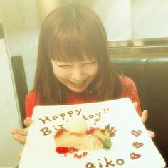 歌うことが大好きで ひたむきに頑張り続ける姿勢にわたしも頑張らなきゃ!と思います✨ おめでとうaikoちゃん #aiko #happybirthday