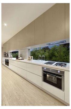 Luxury Kitchen Design, Kitchen Room Design, Kitchen Cabinet Design, Interior Design Kitchen, French Kitchen Decor, Home Decor Kitchen, Kitchen Furniture, Wood Furniture, Kitchen Ideas