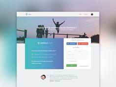 Demooz register page in progress by BEASTY