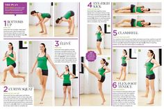Rockette-inspired workout. Dance moves that tone your entire body.