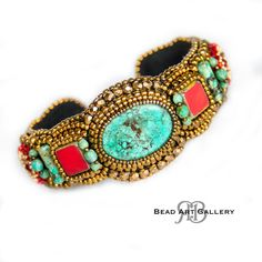 Hey, I found this really awesome Etsy listing at https://www.etsy.com/listing/231633860/bead-embroidered-cuff-bracelet