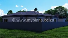 4 Bedroom House Plan - My Building Plans South Africa Split Level House Plans, Square House Plans, Metal House Plans, My House Plans, 4 Bedroom House Plans, Family House Plans, My Building, Building Plans, House Plans South Africa