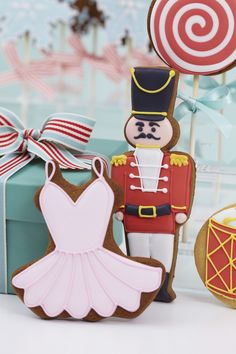 Nutcracker Christmas Cookies