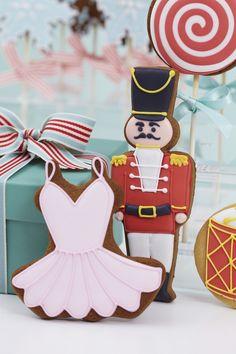 Nutcracker Christmas Cookies by Peggy Porschen. Photography courtesy of Georgia Glynn Smith www.peggyporschen.com