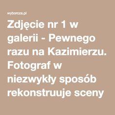 Zdjęcie nr 1 w galerii - Pewnego razu na Kazimierzu. Fotograf w niezwykły sposób rekonstruuje sceny z życia krakowskich Żydów