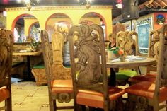 Hand+Carved+Mexican+Furniture   ... Mexican Cuisine Bar & Grill Photo: Furniture was hand carved in Mexico