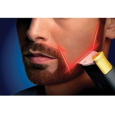 The Only Laser Guided Precision Trimmer - Hammacher Schlemmer