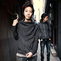 Aboki Fashion Korean Brands, Ulzzang Boy, Post Apocalyptic, Korean Fashion, Bomber Jacket, Japanese, Poses, Fashion Outfits, Costumes