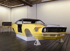 Artist creates incredibly detailed life-size Ford Mustang entirely out of paper! | Inhabitat - Sustainable Design Innovation, Eco Architecture, Green Building