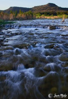 Rapids, Independence Creek Preserve - Terrell County, Texas