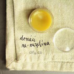 Přírodní ne-vazelína - jednoduchý recept ze dvou surovin