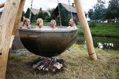 7 Incredibly Unique Hot Tubs!