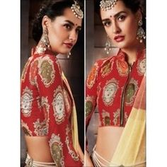42008 Ivory Designer Function Wear Saree Online Collections, Indian Designer Wear, Ivory, Sari, Blouse, How To Wear, Tops, Women, Fashion